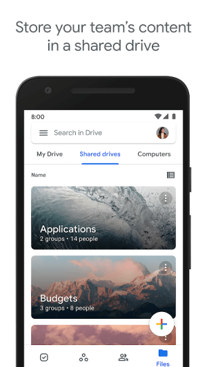Android Google Drive Screen 9