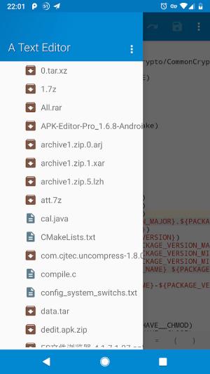 NMM Text Editor 1.5.0 Screen 4