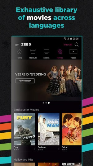 ZEE5 - Movies, TV Shows, LIVE TV & Originals 14.14.2 Screen 4