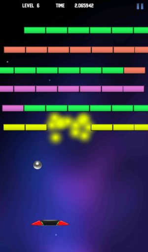 BrickBreaker Galaxy 1.0 Screen 5