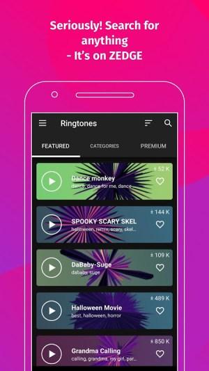 Android ZEDGE™ Wallpapers & Ringtones Screen 7