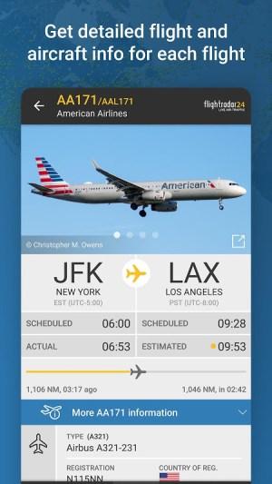 Flightradar24 Flight Tracker 8.7.3 Screen 4