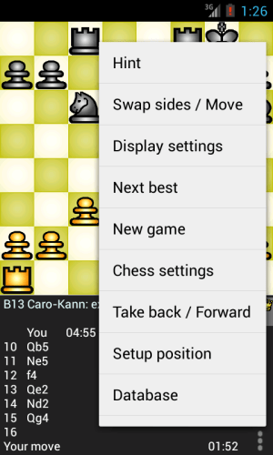 Chess Genius Lite 3.1.0 Screen 2