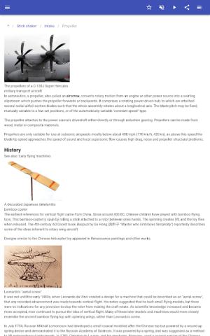 Construction of aircraft 8.5.4 Screen 9