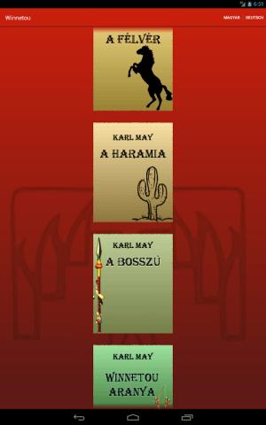 Android Winnetou összes - Karl May Screen 1
