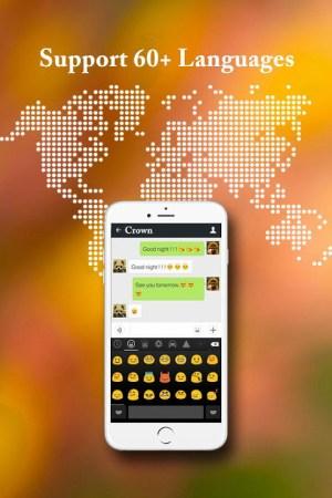 Cute Emoji Keyboard - Emoticons 1.2.0 Screen 2