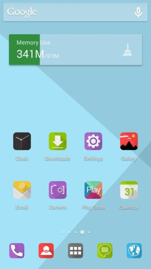 Android Angular - Icon pack Screen 2