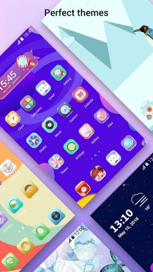 Perfect Note10 Launcher for Galaxy Note,Galaxy S A 2.9 Screen 7