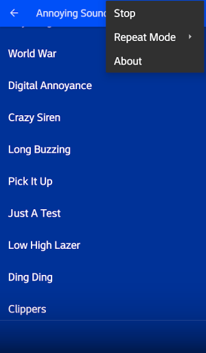 Annoying Sounds Free 4.0 Screen 5