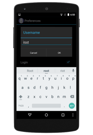 Android VU+ REMOTE CONTROL Screen 3