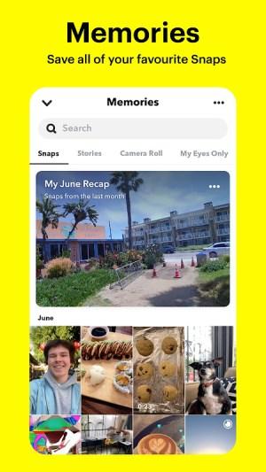 Snapchat 11.46.0.33 Screen 6