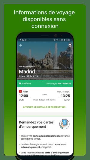 Go Voyages: Réserver des vols et voyages pas chers 4.146.0 Screen 2