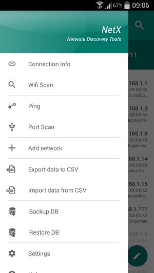NetX - Network Discovery Tools 3.6.8.0 Screen 4