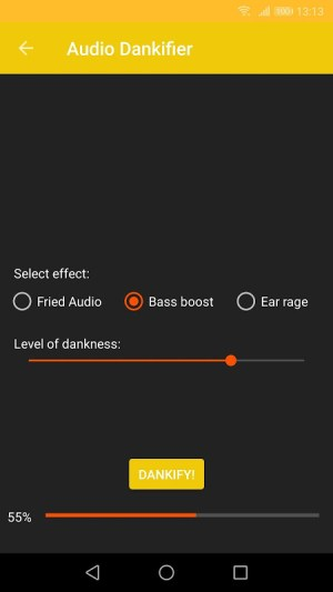 Audio Dankifier 3.0 Screen 3