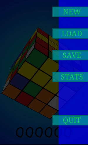 Android Cube Game Screen 2