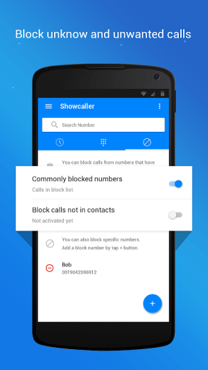 Caller ID, True Call & Call Blocker: Showcaller 2.0.8 Screen 3