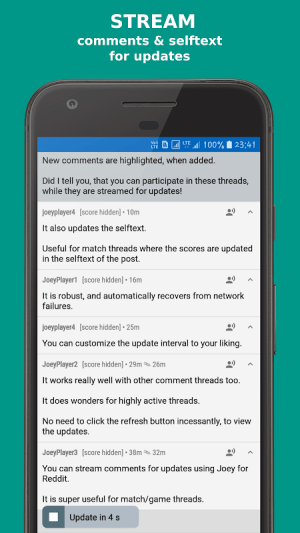 Joey for Reddit 1.7.3.7 Screen 6