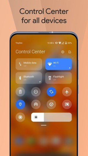 Mi Control Center: Notifications and Quick Actions 3.7.9 Screen 1