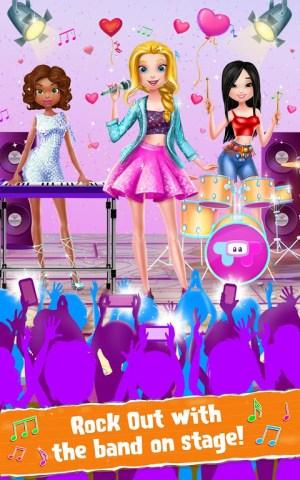 Android Rockstar Girls - Rock Band Screen 2