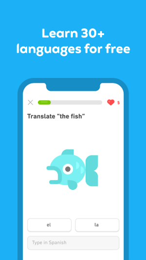 Android Duolingo: Learn Languages Free Screen 4