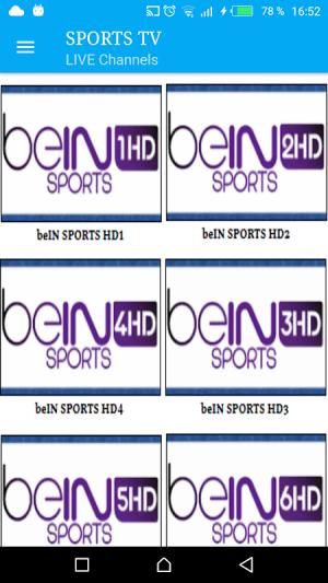 Sports TV 2.5 Screen 1