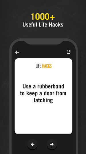 Life Hack Tips - Daily Tips for your Life 2.1 Screen 2
