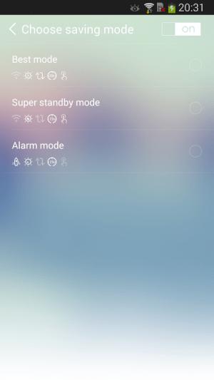 CBattery Widget 1.2 Screen 3