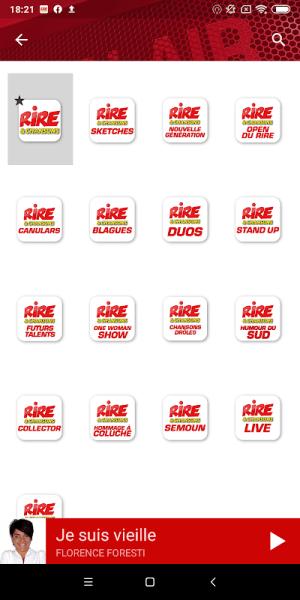 Rire & Chansons Radio 6.0.0 Screen 13
