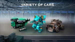 Blocky Cars - Online Shooting Games 7.3.11c Screen 2