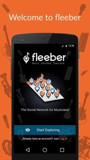 fleeber - Musicians Network 2.8.9 Screen 4
