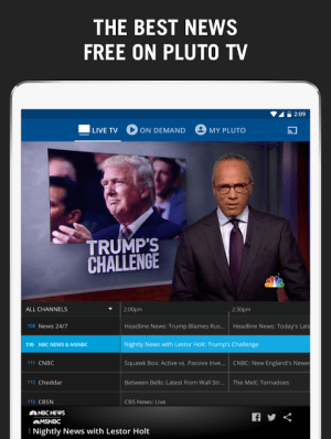 Pluto TV - It's Free TV 3.3.4-leanback Screen 10