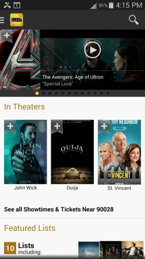 IMDb Movies & TV 2.3.2a Screen 9