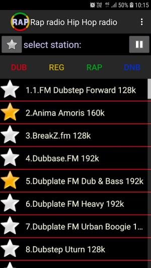 Android Rap radio Hip Hop radio Screen 3