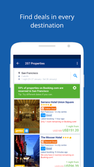 Booking.com - Book hotels, houses, cottages & more 21.8.0.1 Screen 11