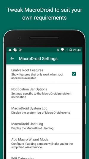 MacroDroid - Device Automation 4.9.6.1 Screen 7