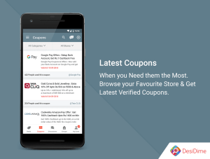 DesiDime - Online Deals & Coupons 3.1.9 Screen 2