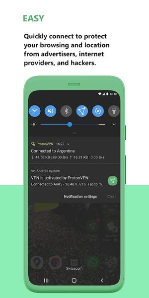 Proton VPN - Free VPN, Secure & Unlimited 2.7.56.1 Screen 5