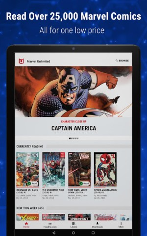 Marvel Unlimited 6.3.0 Screen 1