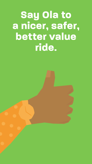 Ola. Get rides on-demand 5.0.1 Screen 1