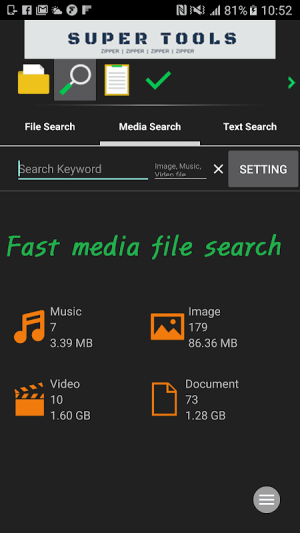 7Zipper - File Explorer (zip, 7zip, rar) 3.10.59 Screen 4