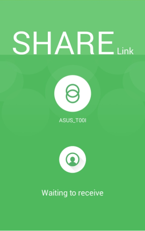 Android Share Link – File Transfer Screen 2
