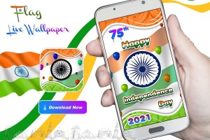Android Indian Independence Day LWP Screen 2
