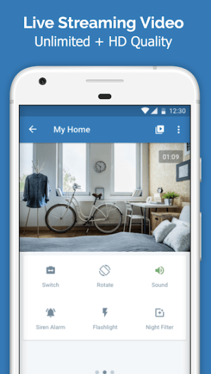 Cawice - Free Home Security Camera App for Android 1.4 Screen 2