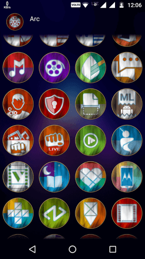 Arc - Icon Pack 3.0 Screen 5