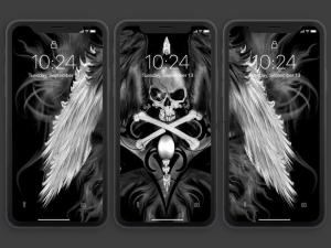 Android Skull Wallpapers and Backgrounds Screen 2
