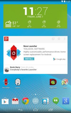 Nova Launcher 4.2.0-beta7 Screen 2