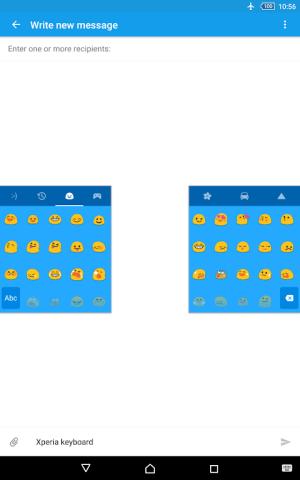 Xperia Keyboard 8.1.A.0.12 Screen 7