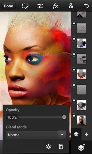 Photoshop Touch for phone 1.3.7.8 Screen 1