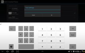 Android Kii Keyboard + Emoji Screen 7