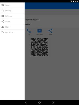 QR & Barcode Scanner 1.6.6 Screen 14